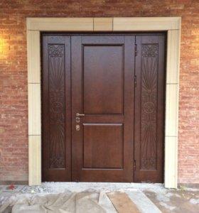 Элитные парадные двери в коттедж от производителя