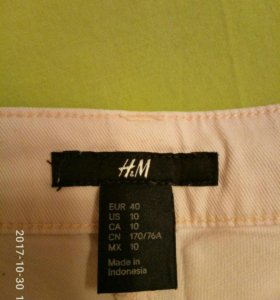 Новые брюки H&M 44-46 р.