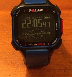 Часы Polar RC3 GPS с датчиком сердечного ритма