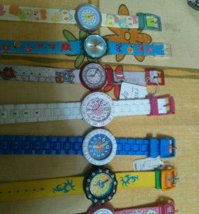 Часы swatch новые детские