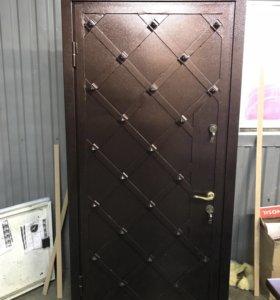 Металические двери от производителя с монтажом