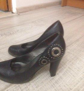 Туфли женские кожаные фирма Макси