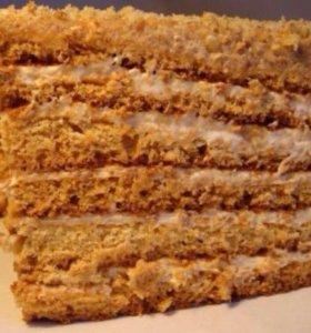 Торт на заказ медовик ❤️