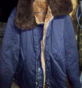 Куртка зимняя,,верх снимается, торг