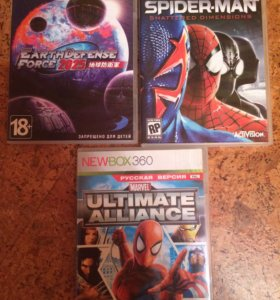 SPIDER-MAN,EARTHDEFENSE,ULTIMATE ALLIANCE