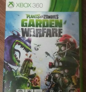 Игра xbox-360 Plants vs. Zombies. Garden warfare