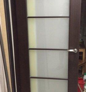 Дверь межкомнатная венге 800 торг
