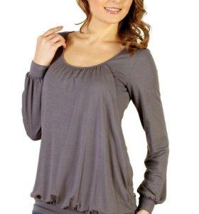 Блузка для беременных и кормящих мам.