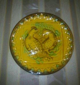 Настенная тарелка ЗИК