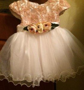 Платье принцессы Новое на 1-1,5