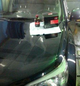 Нанесение Жидкого стекла,нанокерамика на ваш авто.
