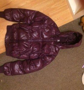 Зимняя пуховая куртка