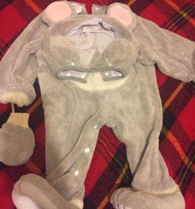 Милый Плюшевый костюм мышонка на Прокат