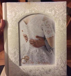 Фотоальбом свадебный магнитные листы