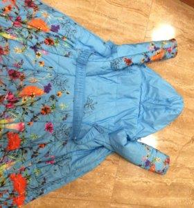 Пальто на девочку осень весна