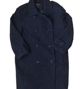 Темно-синее пальто Incity