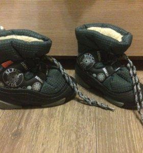 Зимние ботинки demar 26-27 размер