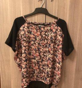 Блуза футболка oversize