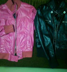Куртки из натуральной кожи для девочки(13-14 лет)