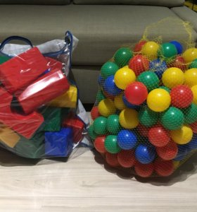 шарики для сухого бассейна,кубики