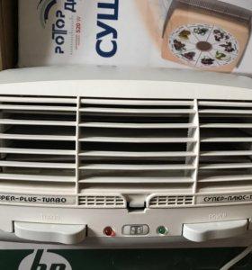 Очиститель воздуха, ионизатор. Супер/плюс-турбо