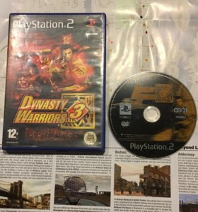 Dynasty Warriors 3(For Ps2)