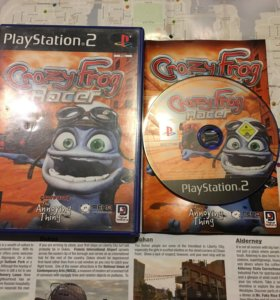 Crazy Frog Racer(Ps2)🏍