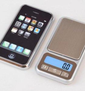 "Карманные весы ""iPhone"" (0.01-100 гр.)"