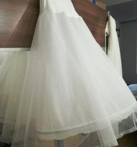 Подъюбник к свадебному платью