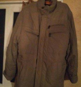 Куртка зимняя мужская р.66