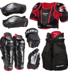 Vapor XVelocity Kit, детский хоккейный комплект