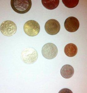 Монеты,юбилейные, иностранные
