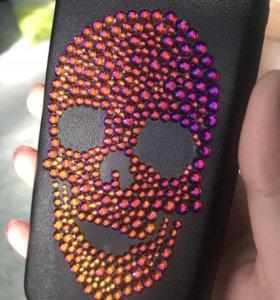 Чехол с камнями SWAROVSKI для IPhone7
