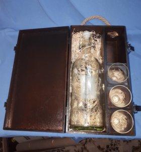 Подарочная коробка для алкоголя