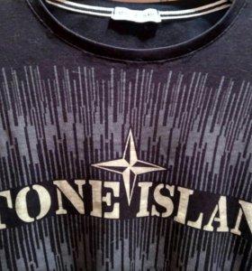 Свитшот кофта Stone Island мужская черная размер M