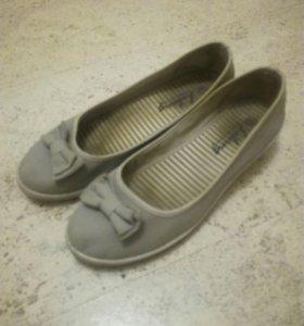 Туфли-парусинки 39 размер