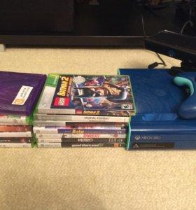 Xbox 360 + Kinect+ 14 игр