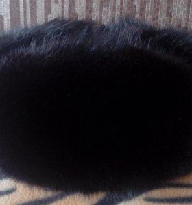 зимняя шапка из кролика б/у
