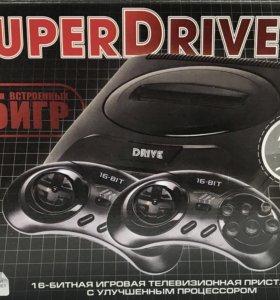 Sega super drive 2 classic 55в1 игровая приставка