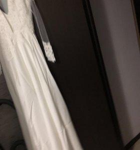 Свадебное платье новое в упаковке