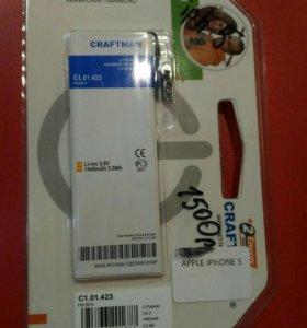 Аккумулятор iPhone 5 craftmann