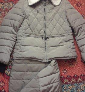 Осенняя куртка 2 в 1. 46-48р.