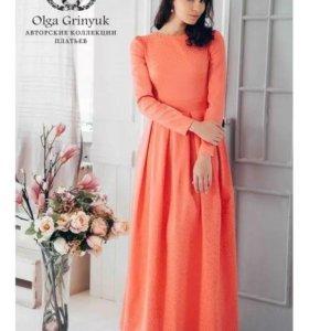 Платье-макси от Ольги Гринюк