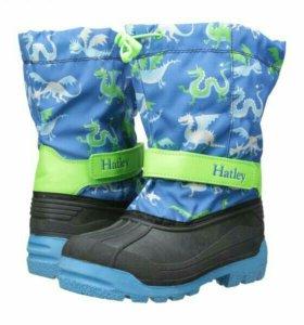 Новые зимние сапоги Hatley