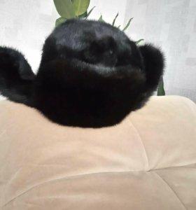 Мужская шапка норка