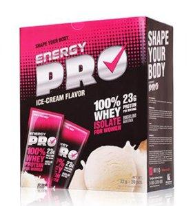 Сывороточный протеин для женщин Пломбир Energy PRO