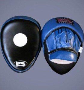 Лапы боксерские,лапы гнутые