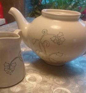 Чайник и молочник икеа