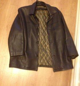 Куртка кожаная  Jorg weber мужская 60 размер
