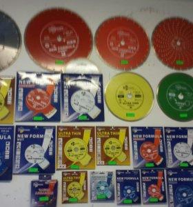 Алмазные диски.Фрезы.